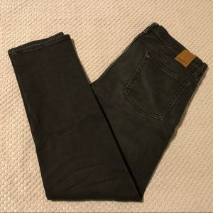 Goodfellow Faded Black/Grey Stretch Lined Jeans